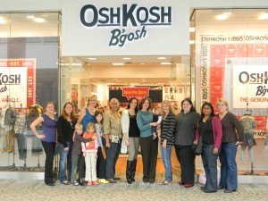 Local Bloggers Shop and Chat at OshKosh B'Gosh