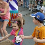 My kids at Disney Social Media Moms, or why I don't have mommy guilt about my blog