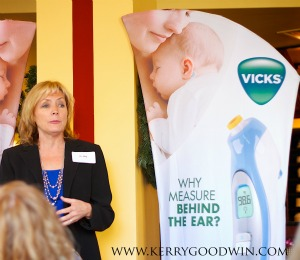 Dr. Meg Meeker at Vicks Behind the Ear Thermometer Event